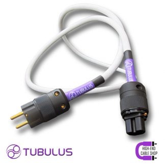 1 HCS power cable tubulus libentus high end solid core copper schuko gold plated hifi